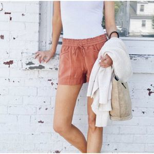 Point sur seaside pant in linen coral XS #J2325